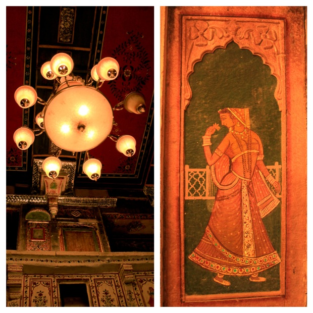 Plafond et mur, Patwa Haveli