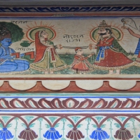 Shri Raghu nath Temple à Mandawa