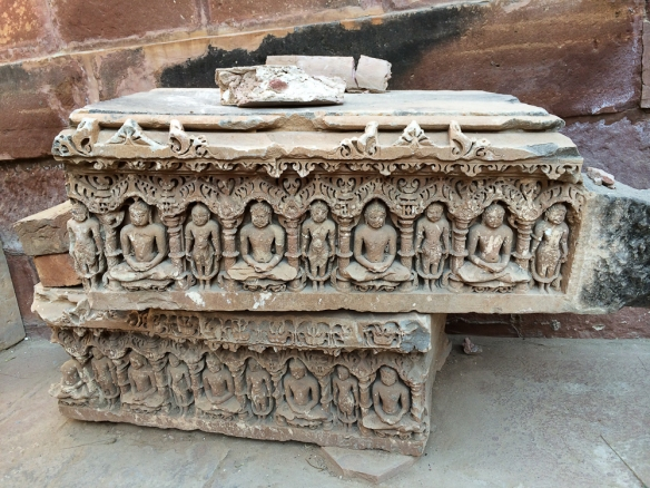 Osian Mata Temple Stone carving 15