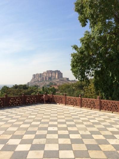 Vue du fort depuis le Jaswant Thada.