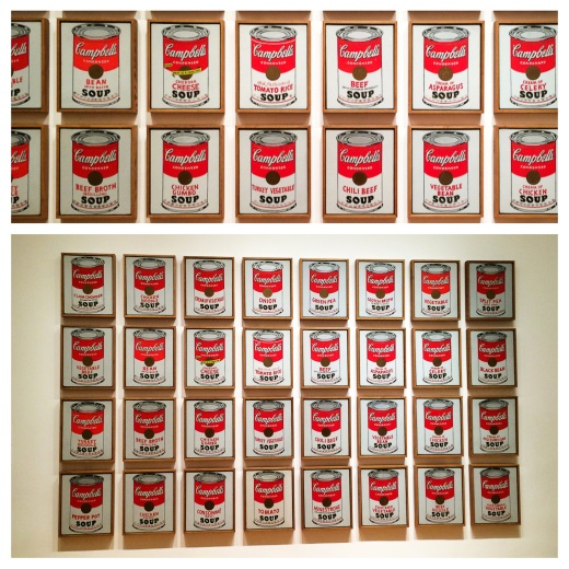Campell's Soup Cans d'Andy Warhol, 1962
