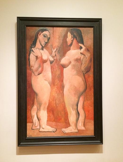 Deux Nus, de Pablo Picasso, 1906