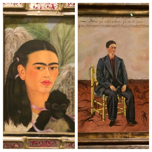 Frida Kahlo, 2 autoportraits, 1937 et 1940