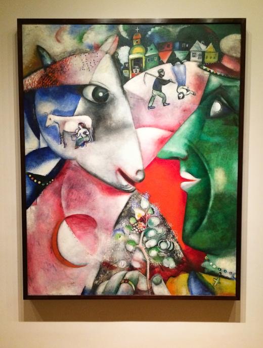 Moi et le Village, Marc Chagall, 1911