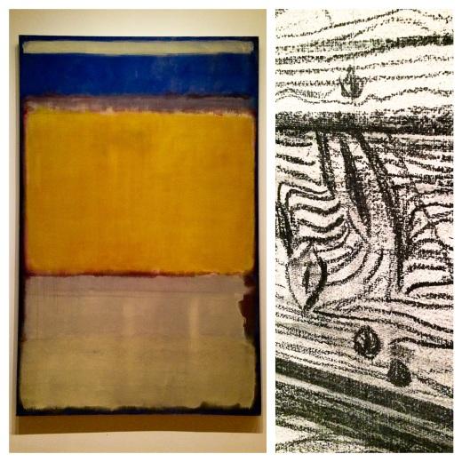 Rothko 1950 et Kiefer 1972