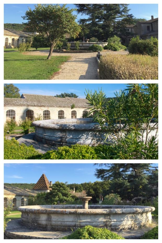 Chartreuse de Valbonne 7. Coté jardin.