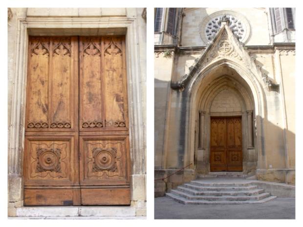 Eglise Saint Pons à Sommières Détails