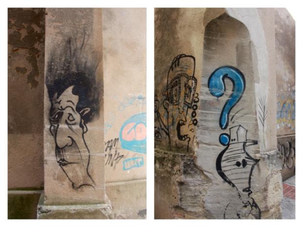 Graffiti à Sommières 01