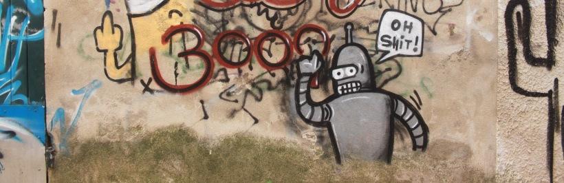 Graffiti à Sommières