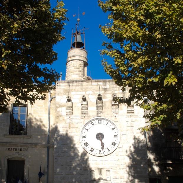 Sommières Tour de l'horloge