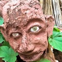 Un sculpteur à Mourèze