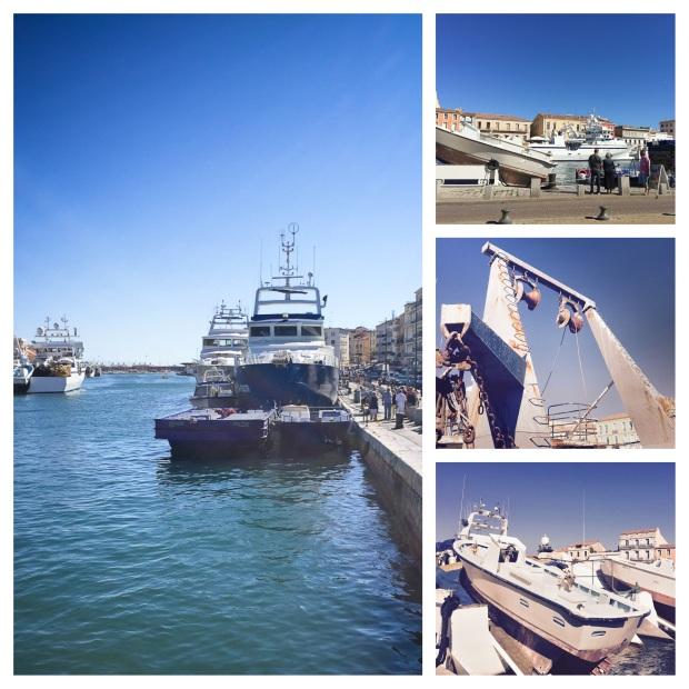 Le canal de Sète