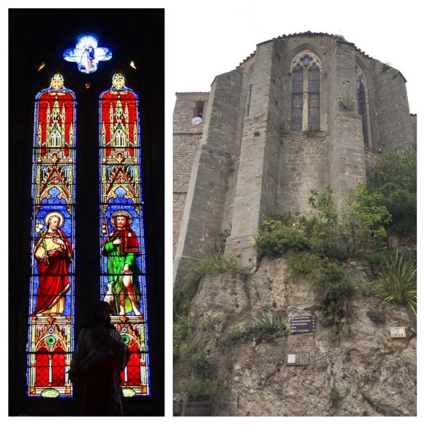 Mourèze l'église