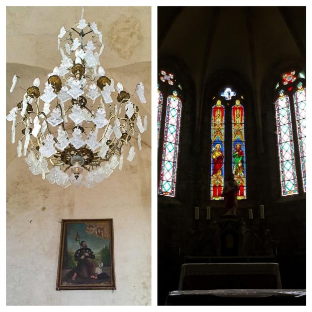 Mourèze l'église1