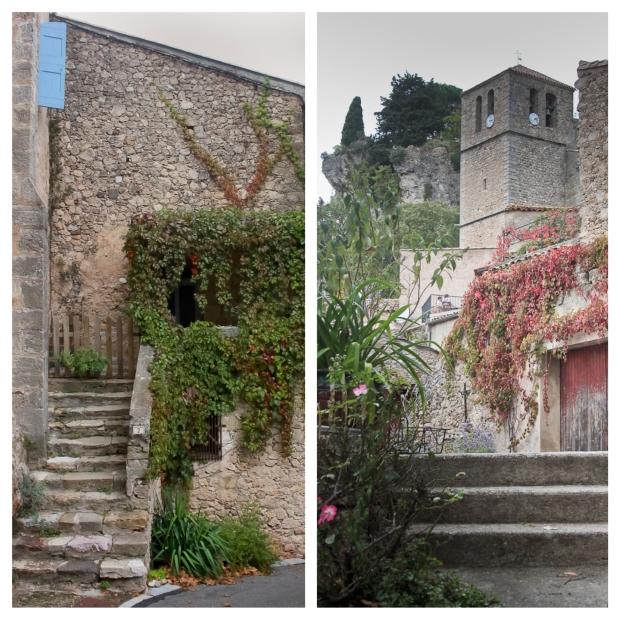 Mourèze Les escaliers 1