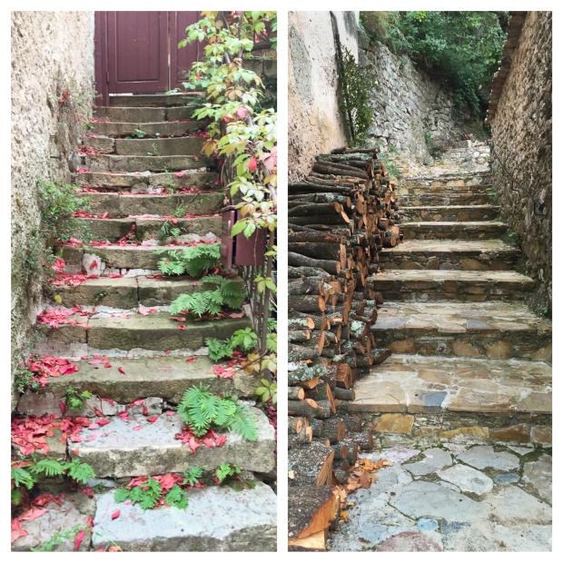 Mourèze Les escaliers 2
