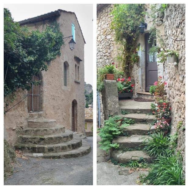 Mourèze Les escaliers 3