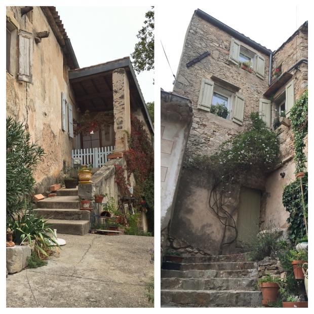 Mourèze Les escaliers 5