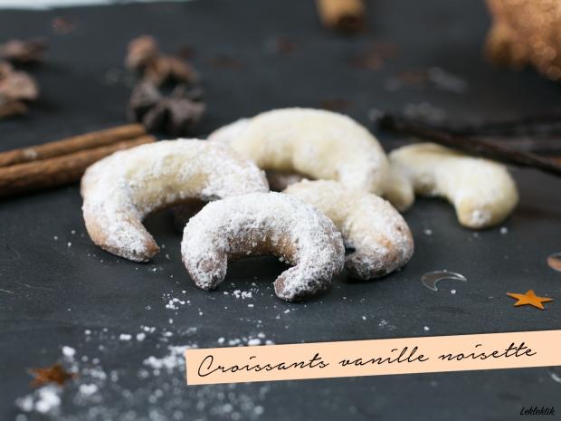 Croissants vanille noisette