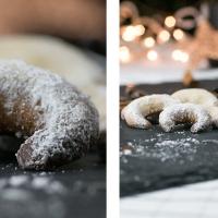Croissants aux noisettes ou aux noix  (Vanille Kipferl)