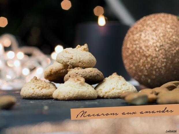 Macarons aux amandes