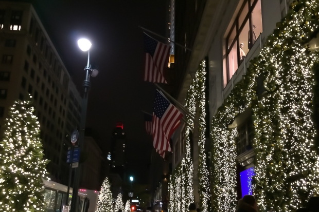 Christmas time in NYC