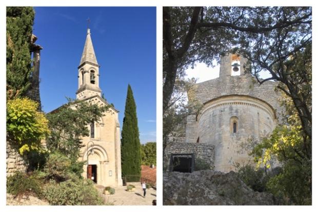 La Roque sur Cèze Chapelle 2