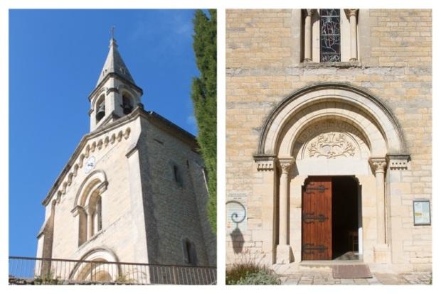 La Roque sur Cèze Eglise