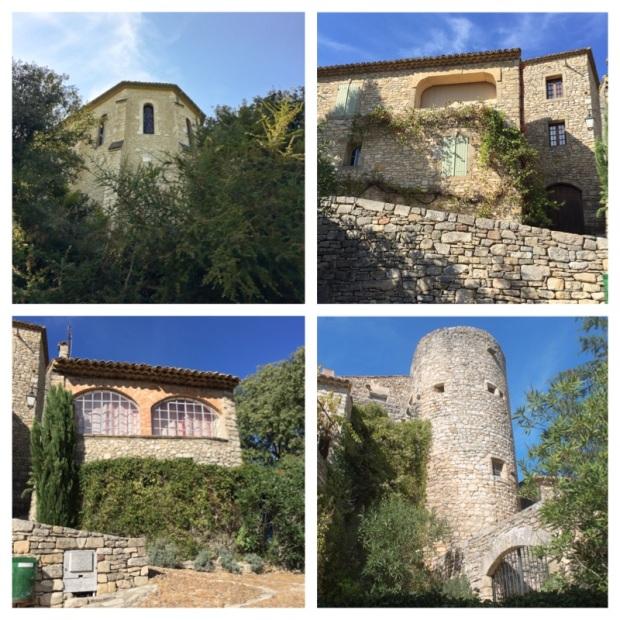 La Roque sur Cèze Maisons de pierres