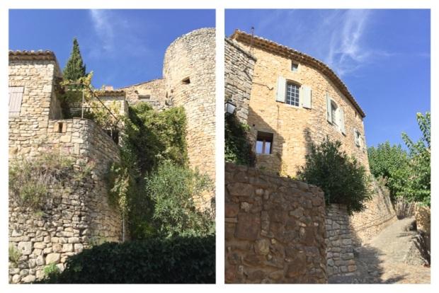 La Roque sur Cèze Murs