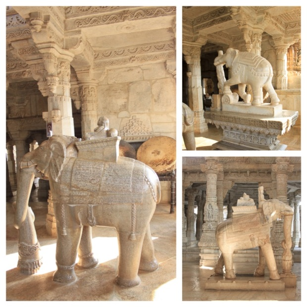 Temple d'Adinath Elephants