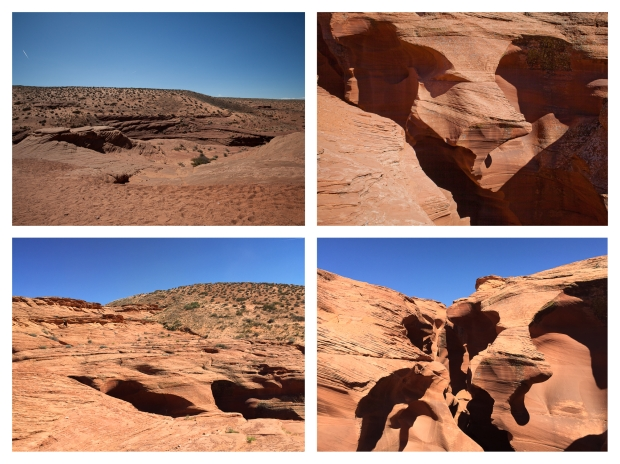 Antelope Canyon Outside