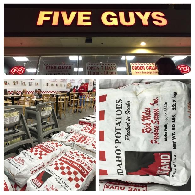 Five Guys Los Angeles