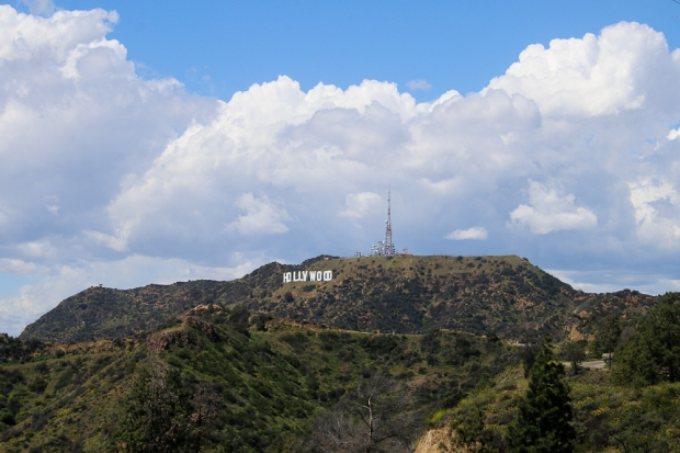 Los Angeles Panneau Hollywood