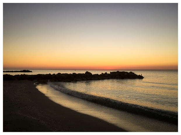 Sunset aux Aresquiers Frontignan