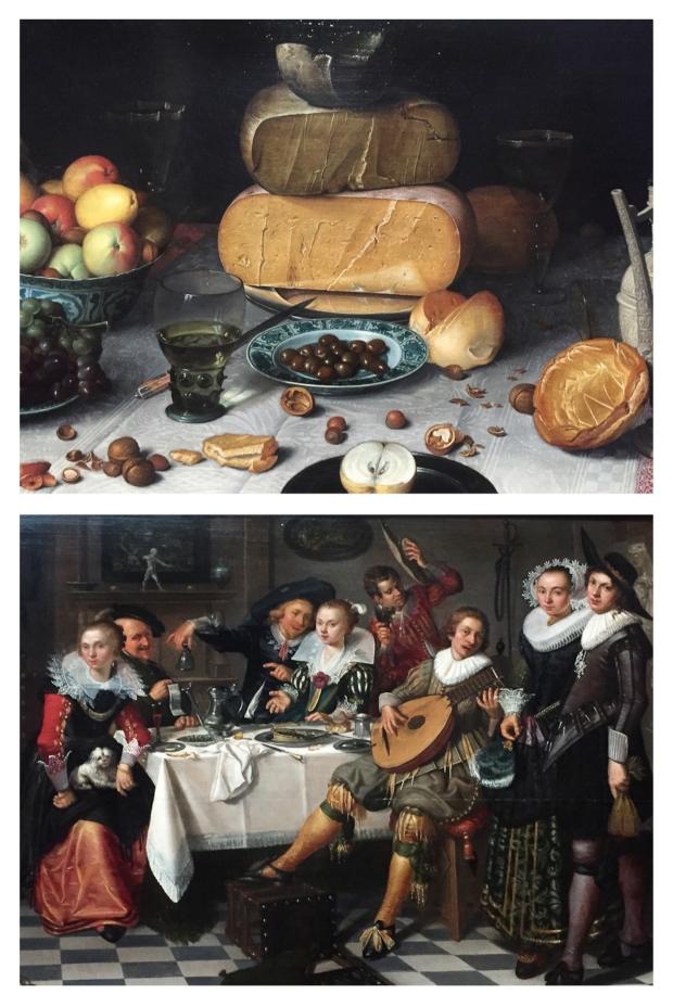 """Floris Claesz van Dijck """"Nature morte au fromage"""" . 1615"""