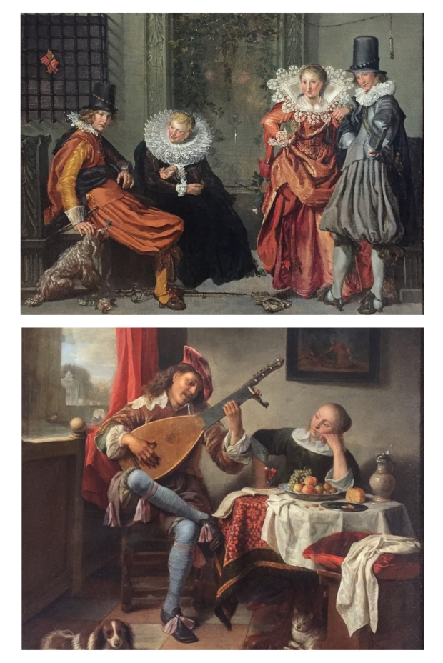 Hendrick Martensz Sorgh Joueur de luth .1661