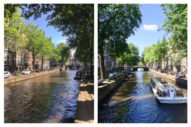 Amsterdam Les canaux