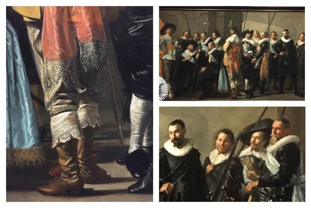 Frans Hals Milice Company of District XI sous le commandement du capitaine Reynier Reael, Connu sous le nom 'The Meagre Company, 1637