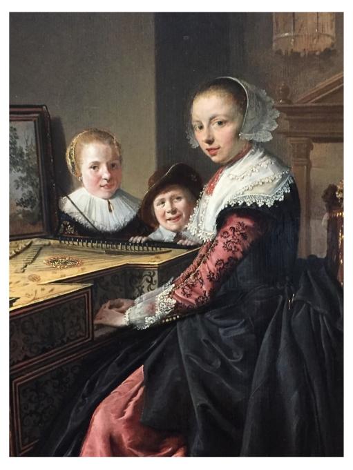 Jan Miense Molenaer La joueuse de virginal 1640