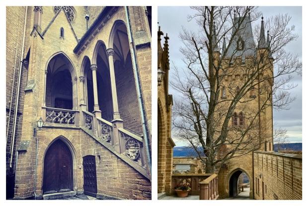 L'escalier qui mène au premier étage est inspiré par les palais italiens.  Hohenzollern 65.jpg