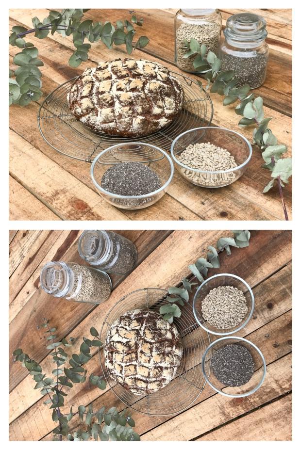 Pain au tournesol et graines de chia 2